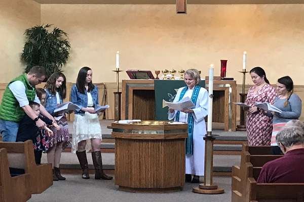 Boyd Family Baptism Nov. 2018